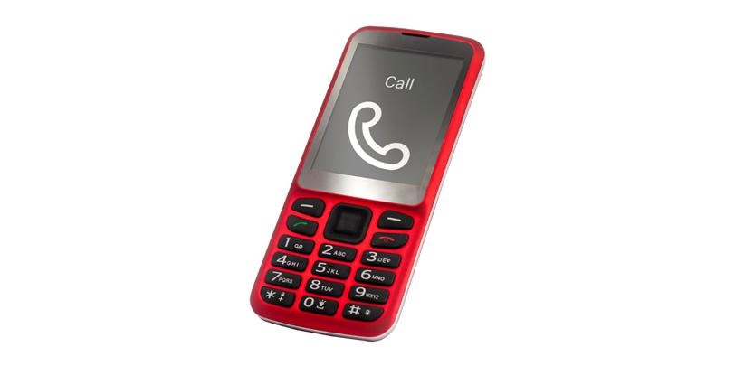 Blindshell telefón