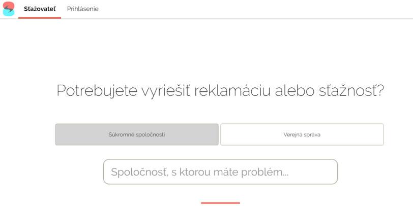 Screenshot z webu stazovatel.sk